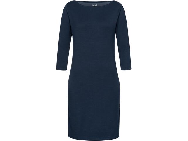 super.natural Cozy Dress Women, blue iris melange
